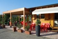 pergole in legno da esterno per bar