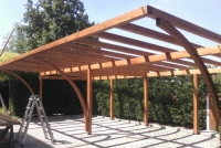 copertura in legno per auto Modena