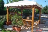 gazebo in legno Modena