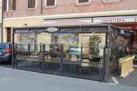 gazebo in ferro per bar