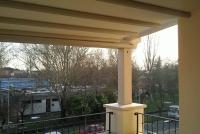 pergolato in legno per terrazzo