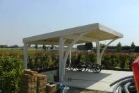 tettoie per auto in legno