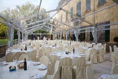 Tensostrutture trasparenti crystal Modena
