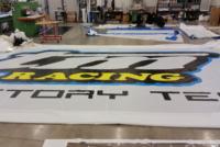 Produzione teli per tende motorsport