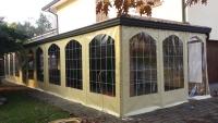 teli in pvc per verande, chiusura laterale