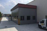 Teloni di grandi dimensioni per coperture industria Modena