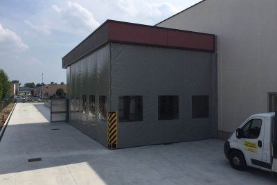 Teli Pvc per coperture industria Modena