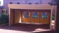 coperture laterali per tettoie