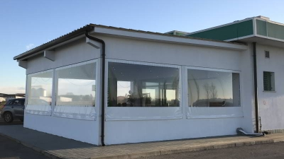 Teli in pvc trasparente per verande