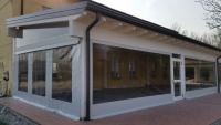 Teloni in pvc trasparenti per chiusura verande